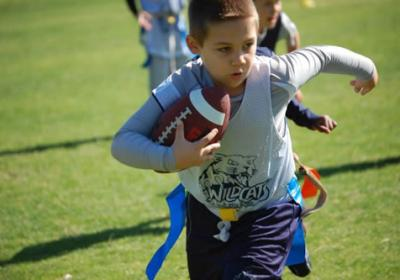 Flag Football At Grace Lutheran School