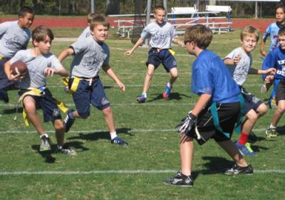 Flag Football Lutheran School League