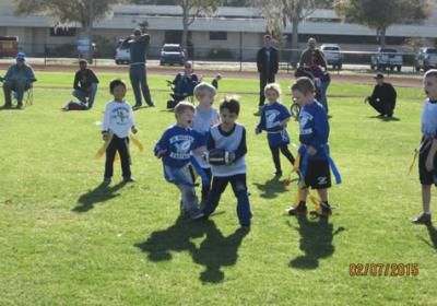 Flag Football Lutheran Schools