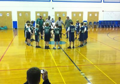 Boys Basketball Lutheran School