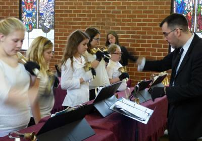 Hand Bells At Grace School