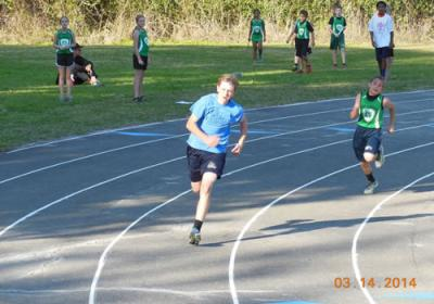 Track And Field At Grace Lutheran School